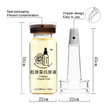 Collagen Original Fluid Anti-Aging Moisturizing 10ml*2pcs