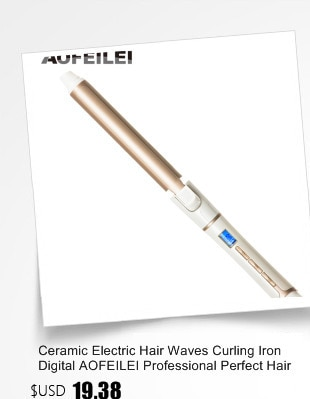 2018 New Real Electric Professional Ceramic Hair Curler Lcd Curling Iron Roller Curls Wand Waver Fashion Styling Tools