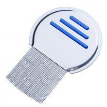 1PC Stainless Steel Kids Hair Terminator Lice Comb Nit Free Rid Headlice Super Density Teeth Remove Nits Comb Hair Tool Dropship