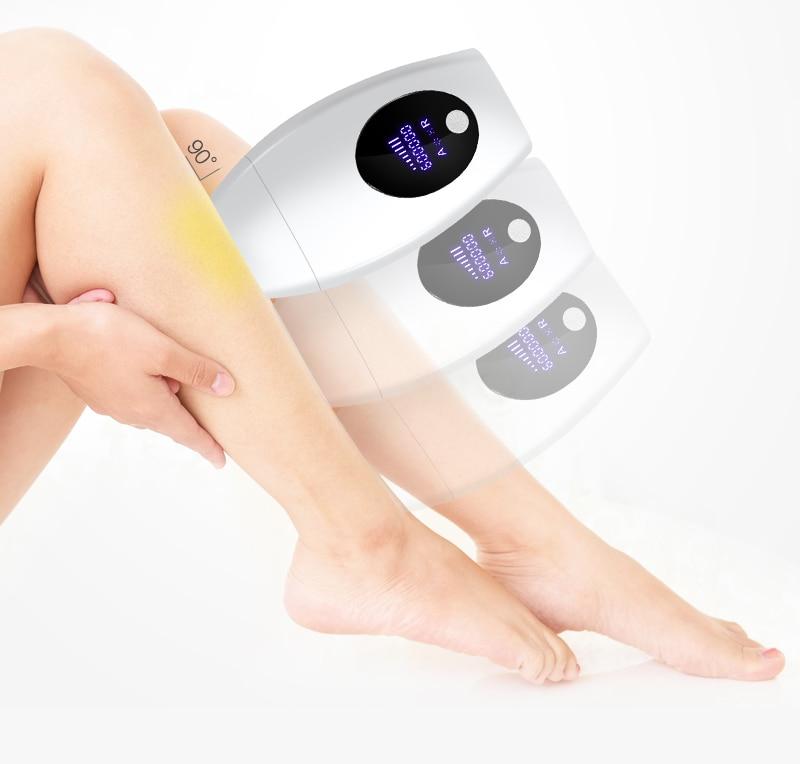 600000 flash professional permanent IPL Laser Depilator LCD laser hair removal Photoepilator women painless hair remover machine