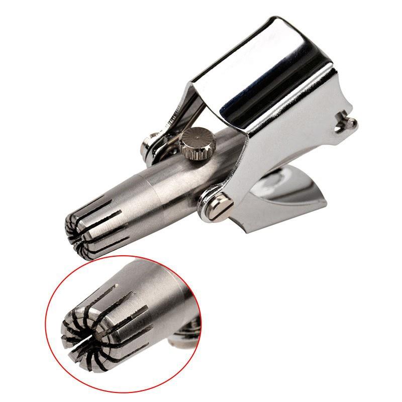 Adomaner Nose Hair Trimmer Ear Portable Vibrissa Razor Manual Rhinothrix Cutter Nariz Nasal Shaver Washable HT Tragi Scissors