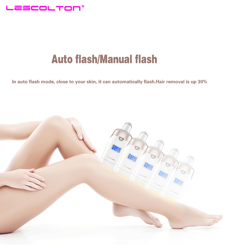 Lescolton 3in1 700000 pulsed IPL Laser Hair Removal Device Permanent Hair Removal IPL laser Epilator Armpit Hair Removal machine