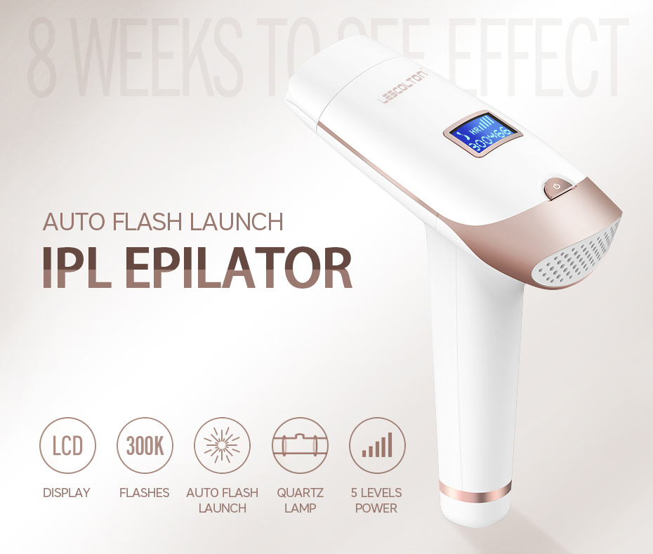 Lescolton 2in1 IPL Epilator Hair Removal LCD Display Machine T009i Laser Permanent Bikini Trimmer Electric depilador a laser