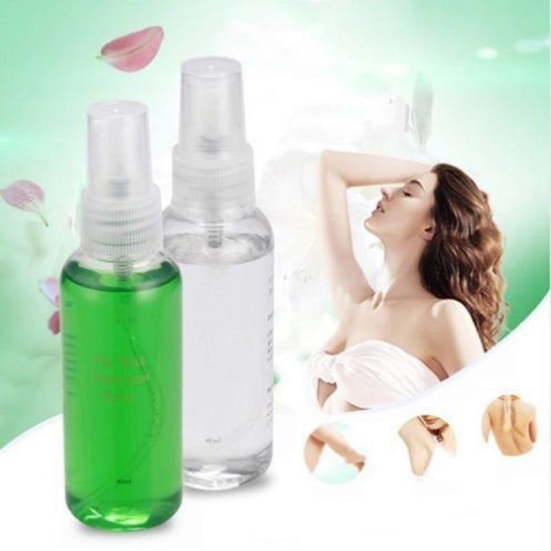 Smooth Body Hair Removal Spray PRE & After Wax Treatment Spray Liquid Hair Removal Remover Waxing Sprayer