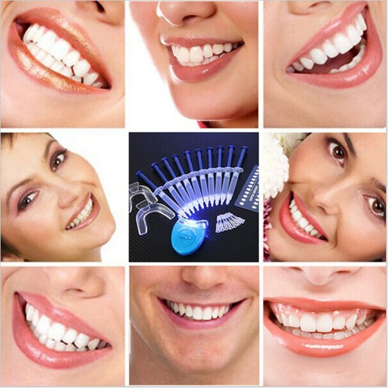 Teeth Whitening 44% Peroxide Dental Bleaching System Oral Gel Kit Tooth Whitener New Dental Equipment 10/6/4/3pcs Beauty Whiten