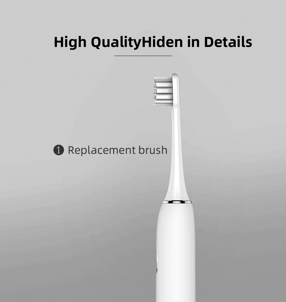 Soocas X3 Sonic Electric Toothbrush Upgraded Adult Waterproof Ultrasonic automatic Toothbrush USB Rechargeable for Xiaomi