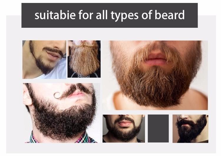 1 pc 30ml Mokeru 100% Organic Beard Oil Hair loss Products Spray Beard Growth Oil For Growth Men Beard Grow Pro