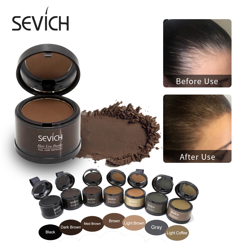 Water Proof hair line powder in hair color Edge control Hair Line Shadow Makeup Hair Concealer Root Cover Up Unisex Instantly