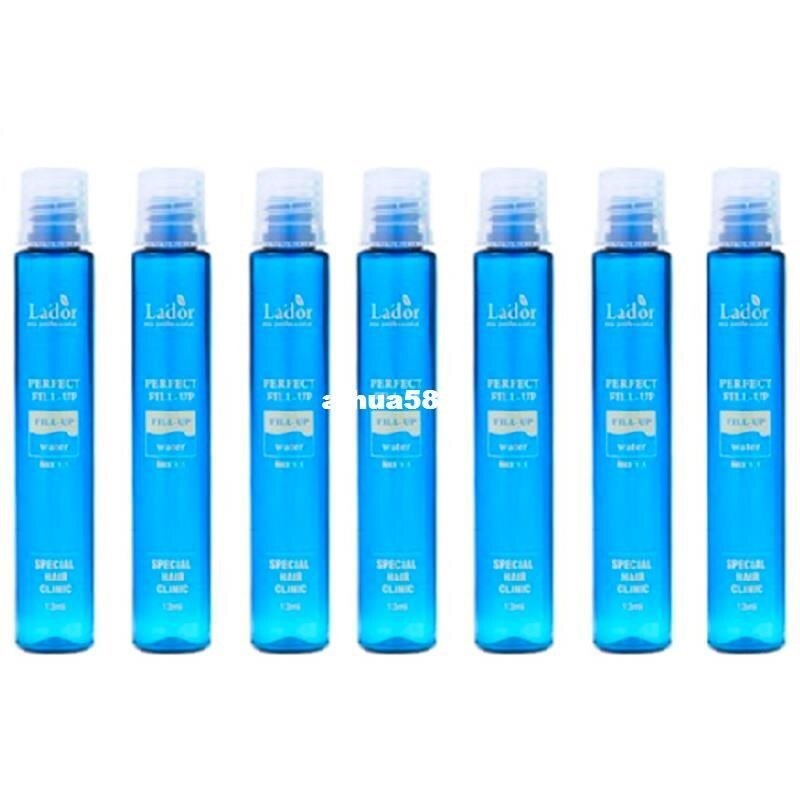 Best Korea Cosmetics LADOR Perfect Hair Fill-Up Protein Hair Ampoule Keratin Hair Treatment Anti Hair Loss Product 13ml