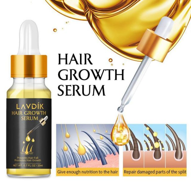 LAVDIK Ginger Fast Hair Growth Serum Essential Oil Anti Preventing Hair Lose Liquid Damaged Hair Repair Growing Dropship TSLM1
