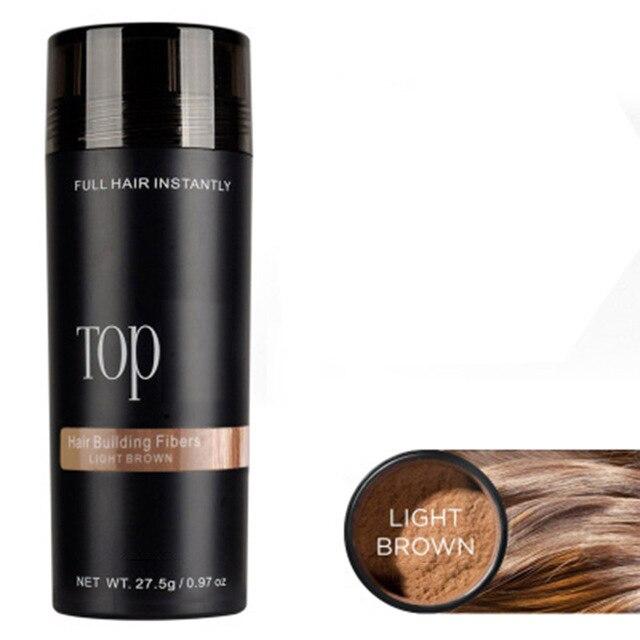 Keratin Hair Fiber Applicator Hair Loss Building Fiber Hair Regrowth Powders Spray Pump Styling Color Powder Extension Thinning