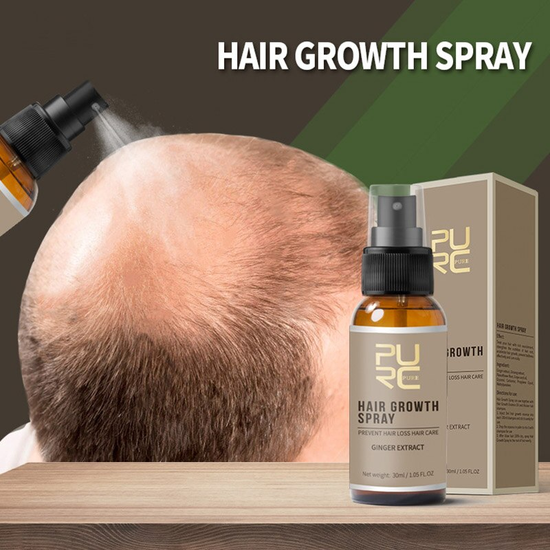 Powerful Hair Growth Essence Hair Loss Products Essential Oil Liquid Treatment Preventing Pomade Loss Hair Care Product