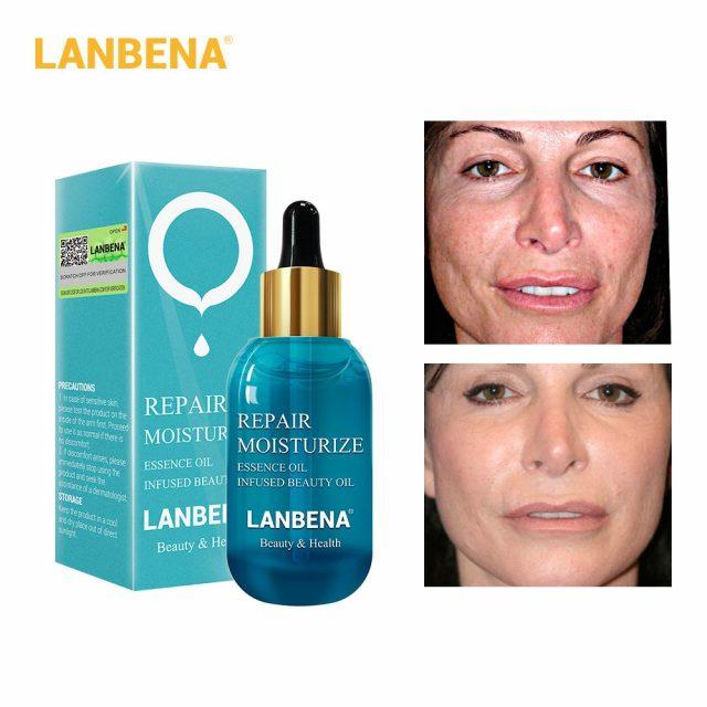 LANBENA Skin Serum Ampoule Essential Oil Hyaluronic Acid Face Cream Whitening Firming Moisturizing Nourishing Collagen Skin Care