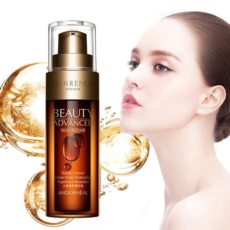 Anti Wrinkle Face Serum Hyaluronic Acid Ginseng Vitaminis Collagen Pore