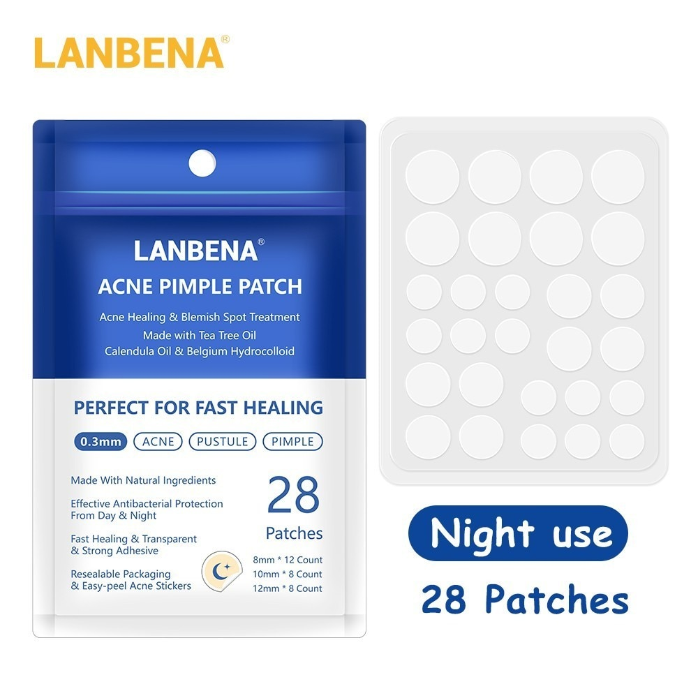 LANBENA Acne Removal Patch Acne Treatment Mask Anti Acne Stickers Blackhead Pimple Remover Face Cream Facial Tool Skin Care