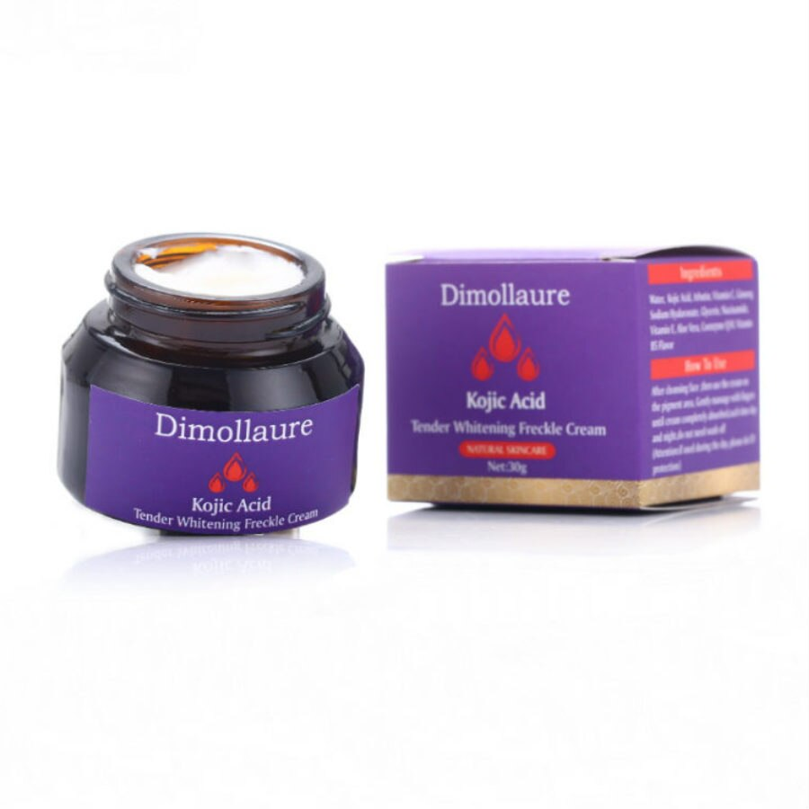 Dimollaure kojic acid Retinol whitening cream Vitamin C peptides Argireline serum Remov Freckle melasma pigment Melanin darkSpot