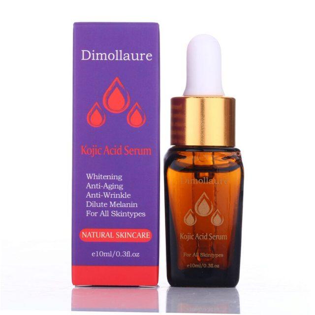 Dimollaure Retinol Cream Whitening Moisturizing kojic acid serum Remove Freckle melasma Melanin sunburn Acne scar dark Spot