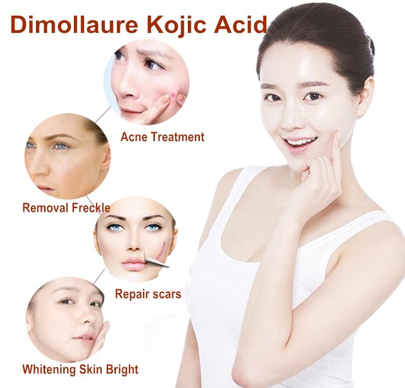 3pcs Dimollaure Kojic Acid Tender whitening Freckle cream Wrinkle removal melasma Acne scar pigment melanin sun spot face care
