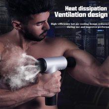 Massage Gun Muscle Relaxation Massager Vibration Gun Vibration Massage Fitness Equipment Noise Reduction Design Brushless Motor