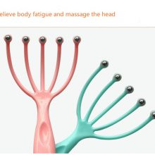 Hot seller Scalp massager Steel Ball head Massage Relaxation Five Finger  Massager for head