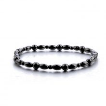 Magnetic Slimming Anklet Bracelet Black Gallstone Weight Loss Stimulating Acupoints Therapy Fat Burning Health Care