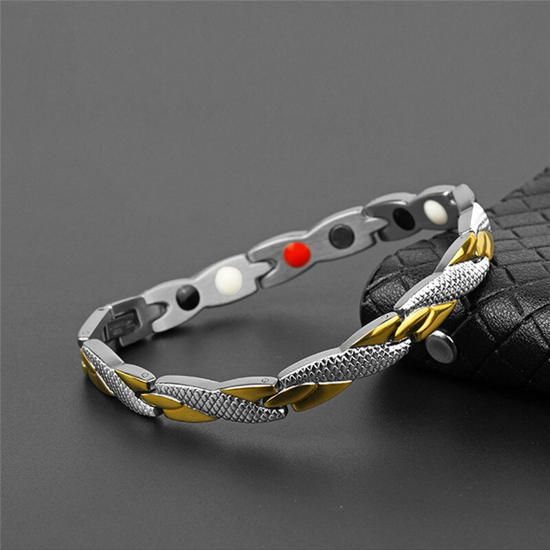 Magnetic Slimming Bracelet Fashionable Jewelry For Man Woman Link Chain Weight Loss Bracelet Health Slimming Weight Loss Product