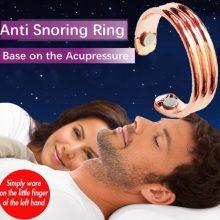 2019 Newly Acupressure Anti Snore Ring Titanium Alloy Treatment Reflexology Anti Snoring Apnea Sleeping Device Promotion Price