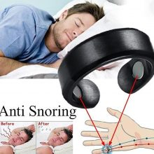 2019 Newly Acupressure Anti Snore Ring Titanium Alloy Treatment Reflexology Anti Snoring Apnea Sleeping Device Promotion Price