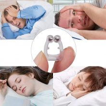 Sleeping Anti Schnarchen Nase Clip Silicone Magnetic Anti Snoring Nose Clips Breathing Stop Snore Apnea Antisnoring Clip Device