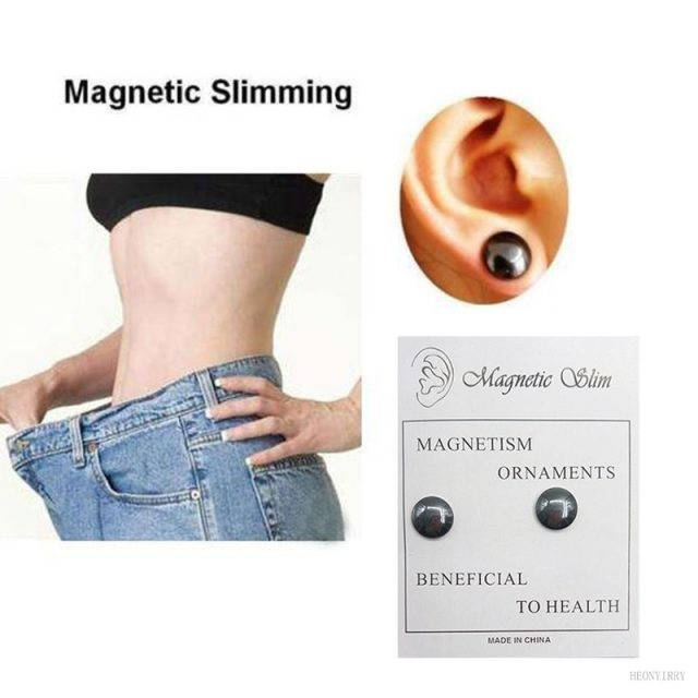 Magnetic Slimming Earrings Slimming Patch Lose Weight Magnetic Health Jewelry Magnets Of Lazy Paste Slim Patch
