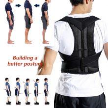 2019 Back Waist Posture Corrector Adjustable Adult Correction Belt Waist Trainer Shoulder Lumbar Brace Spine Support Belt Vest