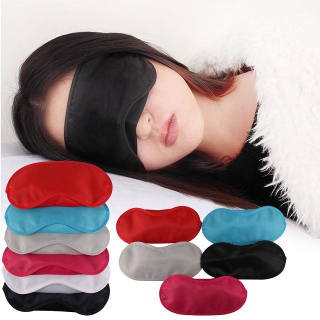 9 Colors Sleep Rest Sleeping Aid Eye Mask Eye Shade Cover Comfort Blindfold Shield Patch Eyeshade Wholesale