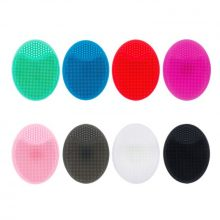 Silicone Facial Wash Pad Exfoliating Blackhead Removal Face Cleaning Brush Tool Soft Deep Cleaning Face Brushes Face Care TSLM1