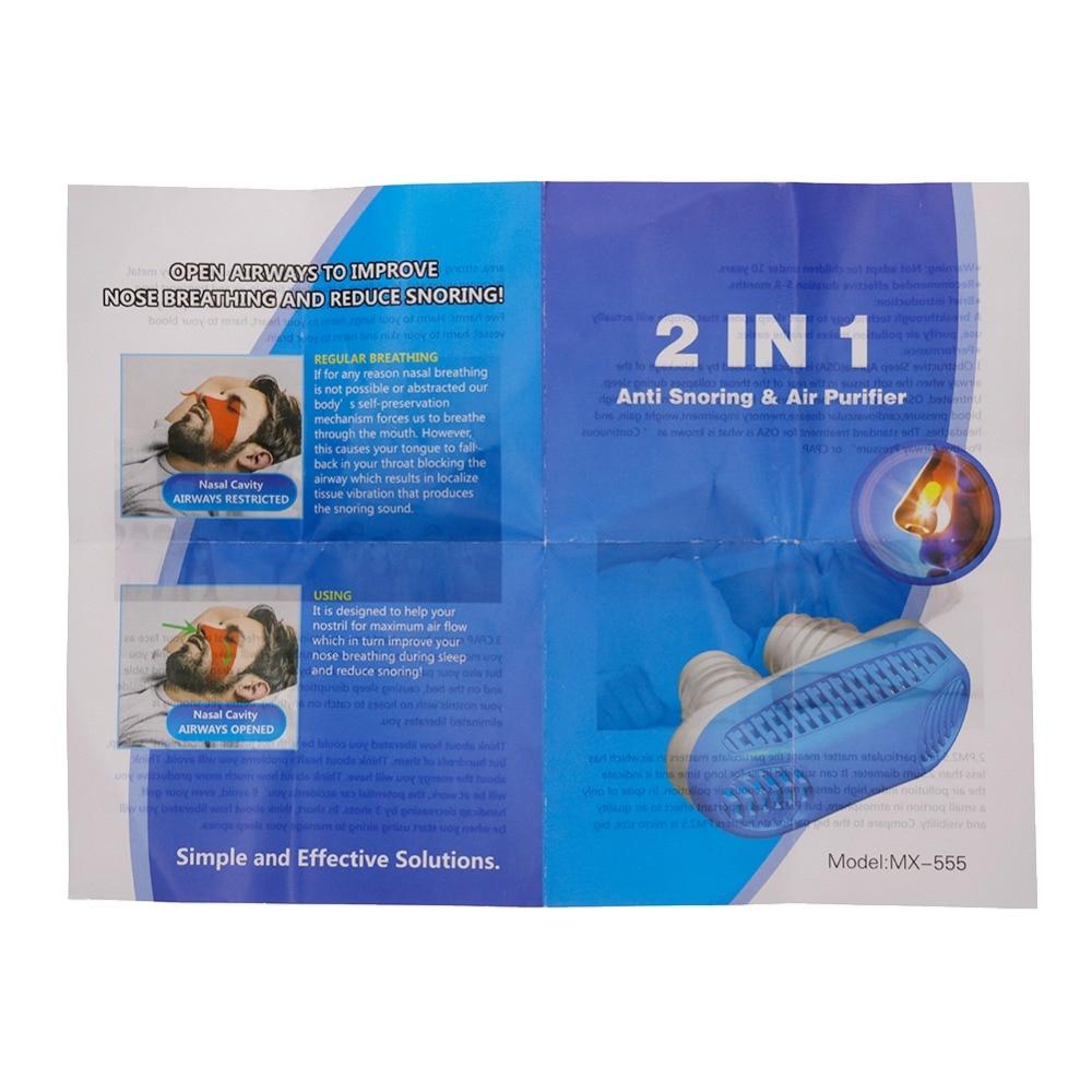 Silicone Anti Snore Nasal Dilators Apnea Aid Device Stop Snoring Nose Clip Nose Breathing Apparatus Stop Snoring Device
