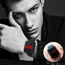 Clock Digital Watch Men's Watch relogios sports watch fitness LED Student Adult Couple Electronic Watch With Shell Adjustment