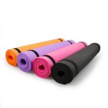 4MM PVC Yoga Mats Anti-slip Blanket PVC Gymnastic Sport Health Lose Weight Fitness Exercise Pad Women Sport Yoga Mat