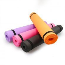 4MM PVC Yoga Mats Anti-slip Blanket PVC Gymnastic Sport Health Lose Weight Fitness Exercise Pad Women Sport Yoga Mat
