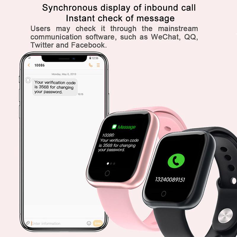 2020 Women Waterproof Smart Watch P70 P68 Plus Bluetooth Smartwatch For Apple IPhone Xiaomi Heart Rate Monitor Fitness Tracker