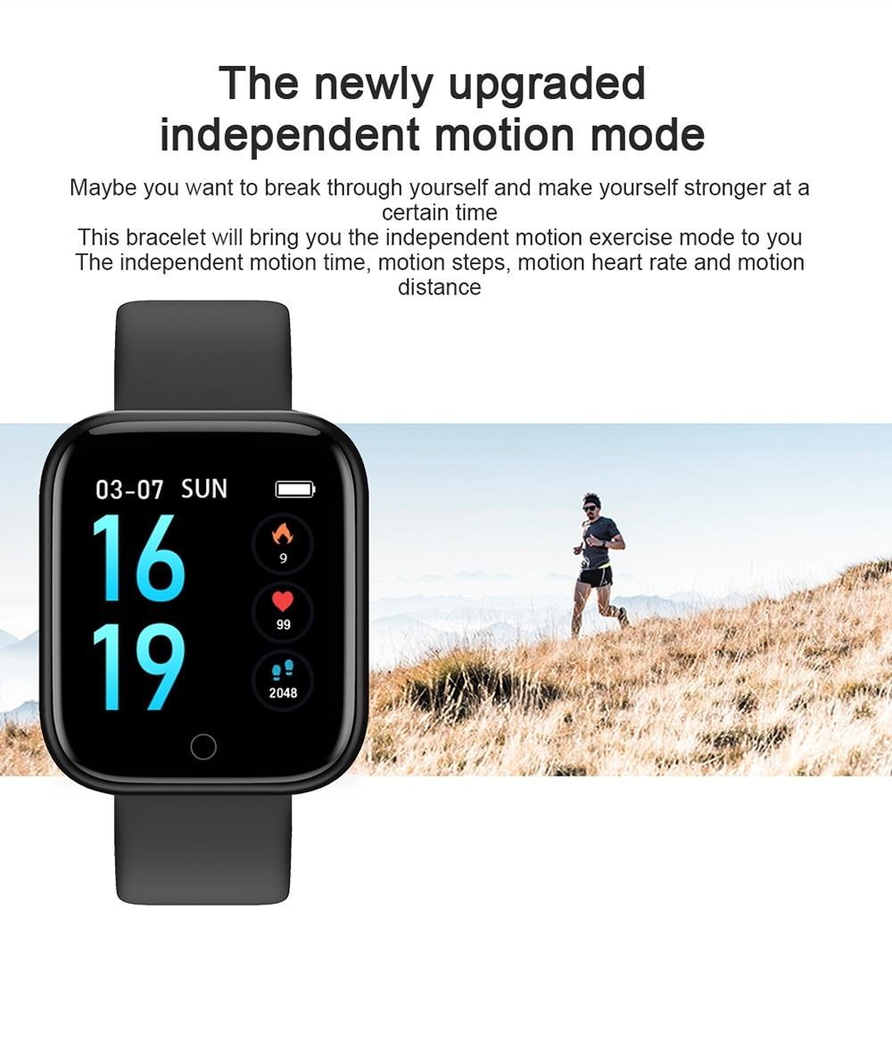2020 Women Waterproof Smart Watch P70 P68 Plus Bluetooth Smartwatch For Apple IPhone Xiaomi Heart Rate Monitor Fitness Tracker