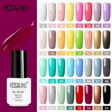 ROSALIND Gel Polish Set All For Manicure Semi Permanent Vernis top coat UV LED Gel Varnish Soak Off Nail Art Gel Nail Polish