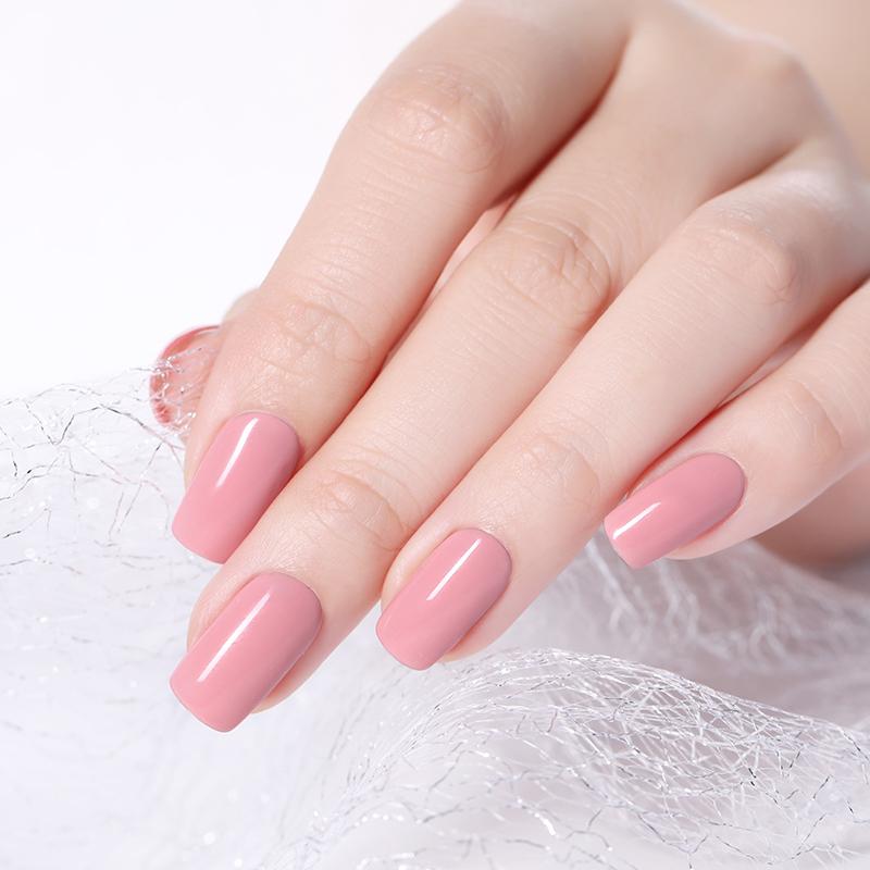 MAD DOLL 8ml UV Gel Nail Polish Rose Gold Glitter Sequins Soak Off UV Gel Varnish Color Nail Gel Polish DIY Nail Art Lacquer