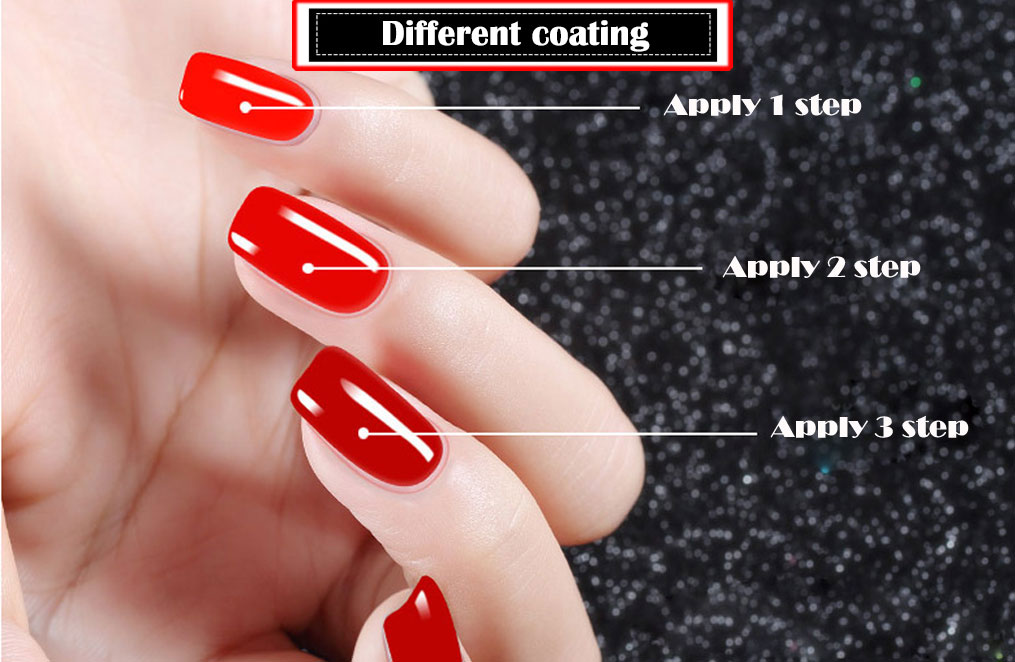 4pcs/kit Poly Gel Set LED Clear UV Gel Varnish Nail Polish Art Kit Quick Building For Nails Extensions Hard Gel Polygel Nail Kit