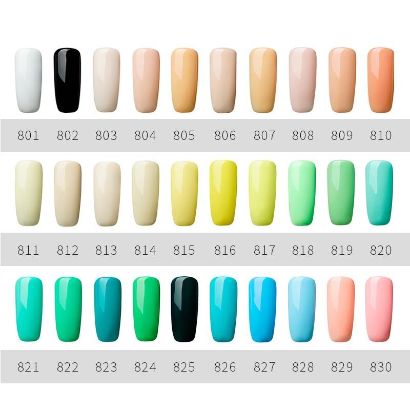 ROSALIND 5ML Painting Gel Varnish 142 Colors Gel Nail Polish Set For Manicure DIY Top Base Coat Hybird Design Of Nail Art Primer
