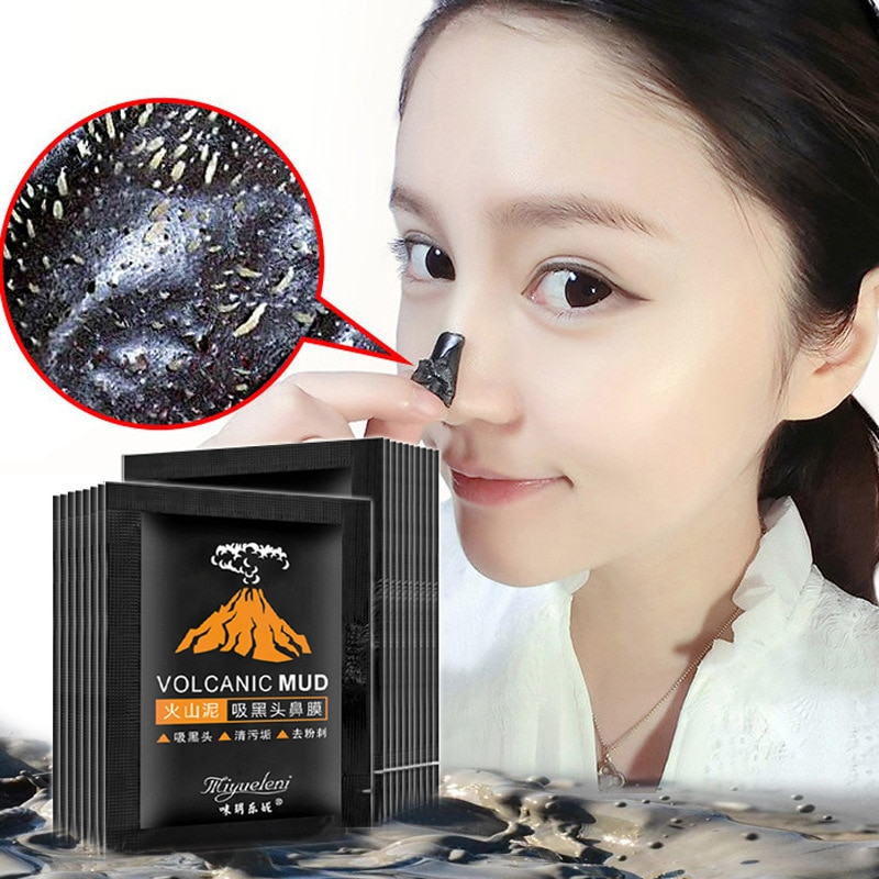1 Pcs Sell Bamboo Charcoal Blackhead Remove Facial Masks Deep Cleansing Purifying Peel Off Black Nud Facail Face Masks