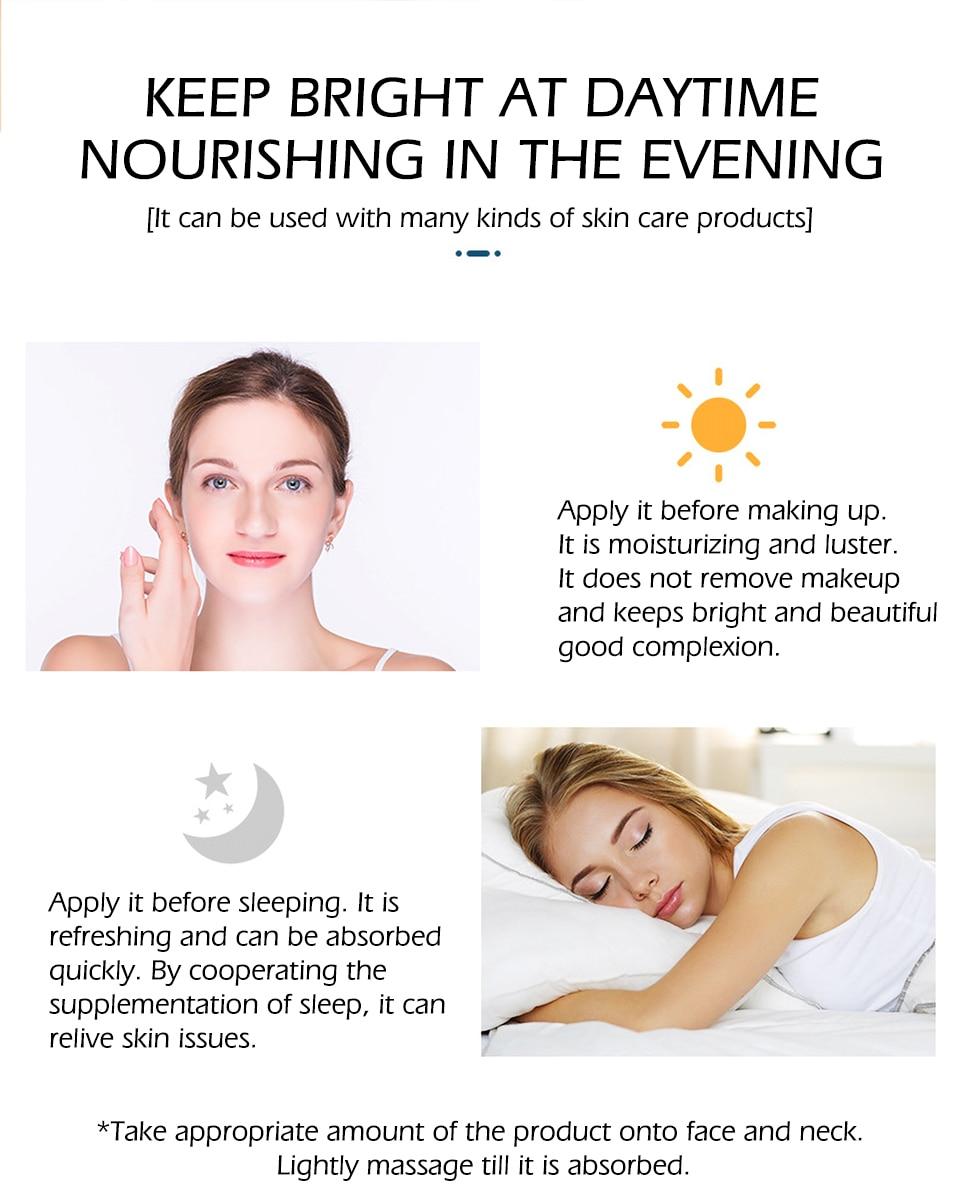 SENANA Hyaluronic Acid Face Serum 24k gold Nicotinamide Ampoule Anti-Aging Shrink pores Anti-Ance Whitening Moisturizing essence