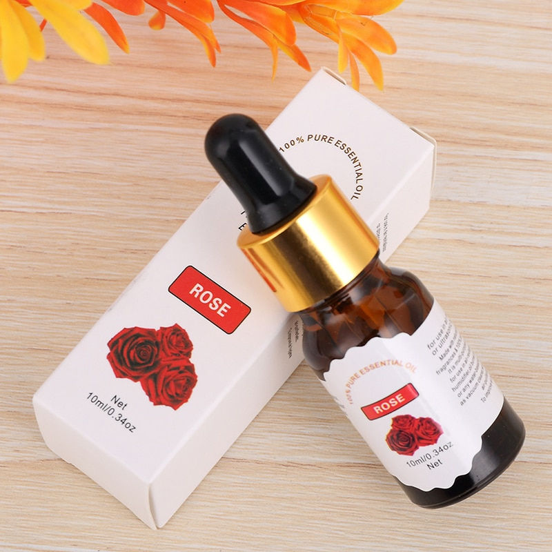10ml Water-soluble Flower Fruit Essential Oil For Aromatherapy Organic Essential Oil Relieve Body Stress Skin Care TSLM2