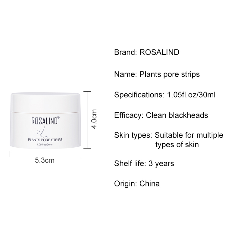 ROSALIND Face Masks Facial From Black Dots Remove Blackhead Acne Nose Peeling FabricMask For The Face Lifting Cream Skin Care