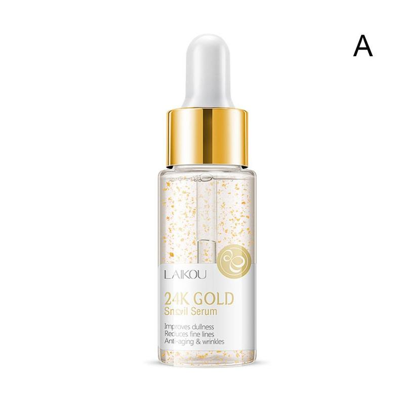 15ml Gold Snail & Vitamin C Whitening Serum Japan Hyaluronic Acid skin Care Face Serum