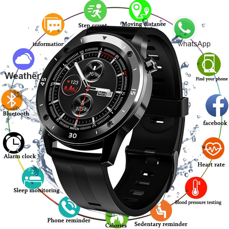 Sport 2020 Smart Watch Men Blood Pressure Heart Rate Monitor Smartwatch Women Waterproof Fitness Tracker Watches For Android IOS