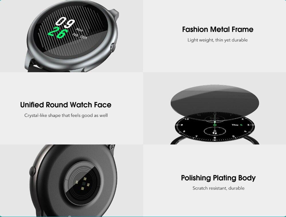 Haylou Solar LS05 Smart Watch 2020 Heart Rate Monitor Smart Bracelet Fitness Tracker Sport Smartwatch Android iOS for Men Women